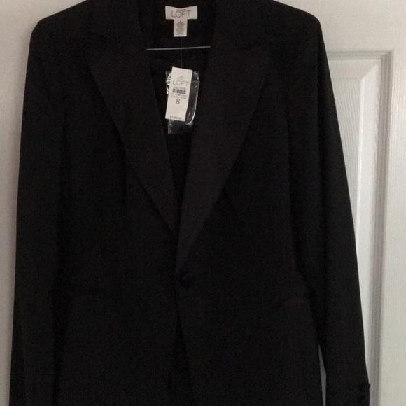 Ann Taylor Jackets & Blazers - Black ladies tuxedo- size 8